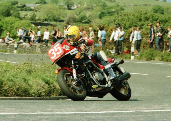 Joey Dunlop (Honda) 1984 Production TT