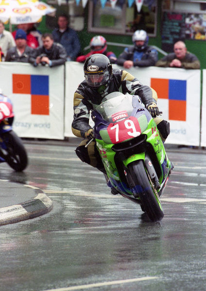 Peter Perrin (Kawasaki) 2000 Production TT