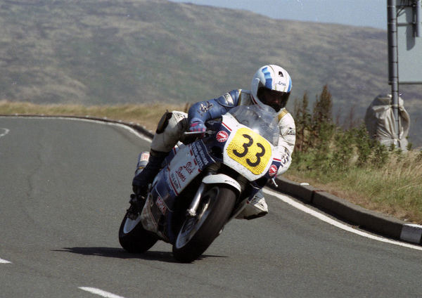 Phil Hickey (Suzuki) 1994 Senior Manx Grand Prix