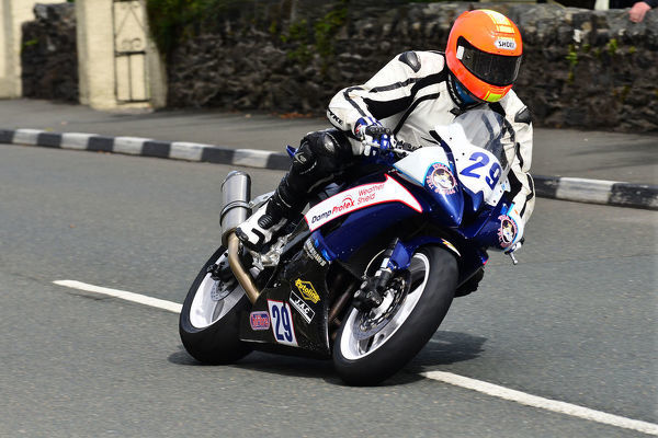 Rodger Wibberley (Yamaha) 2013 Junior Manx Grand Prix