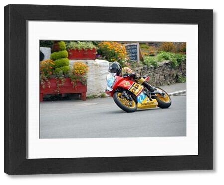 Dan Sayle (Yamaha) at Ballacraine: 2009 Junior Manx Grand Prix