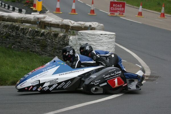 After five runner up rides in the TT, John Holden and Andy Winkle finally achieved their first TT win in the 2011 Sidecar race B