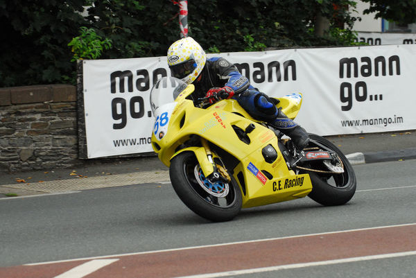 Colin Croft (Suzuki) 2013 Junior Manx Grand Prix