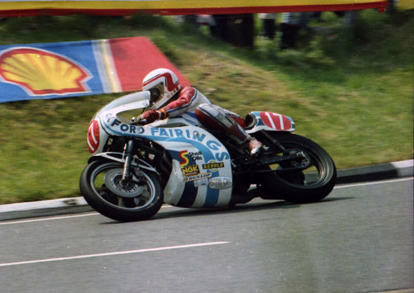 Geoff Johnson (Kawasaki) 1982 Formula One TT