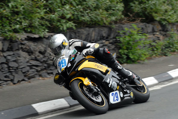 James McBride (Yamaha) 2009 Supersport TT