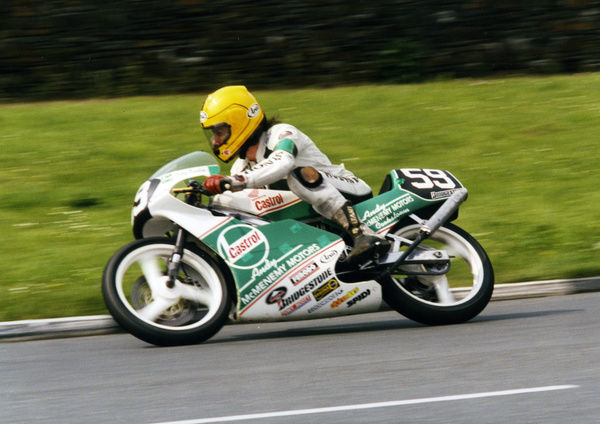 After two barren years (1990 & 1991), Joey got back to winning ways, taking honours in the Ultra Lightweight TT to equal Mike Hailwood's 14 TT wins