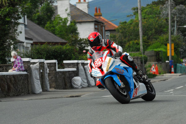 Keith Pringle (BMW) 2012 Southern 100