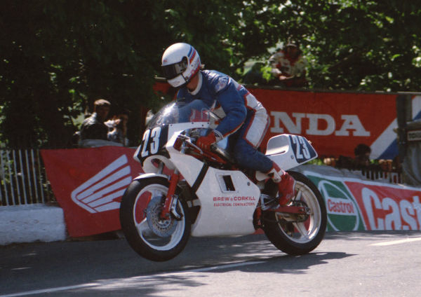 Matthew Wood (Harris) on Ballaugh Bridge: 1994 Singles TT