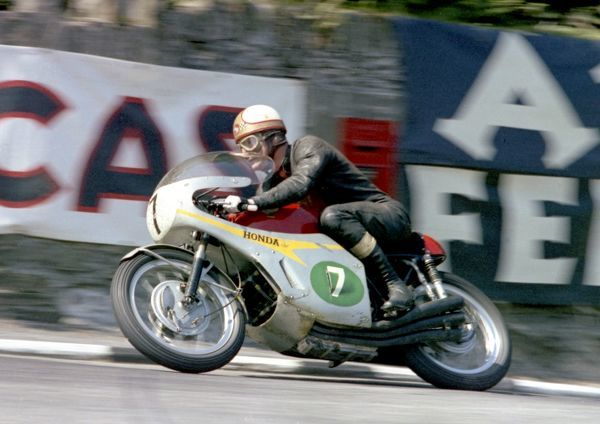 Mike the Bike leave Governors Bridge, and his opposition in the 1967 Lightweight TT
