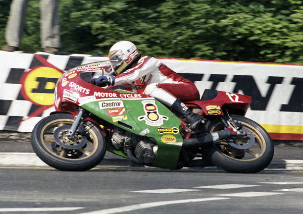 Mike Hailwood (Ducati) 1978 Formula One TT