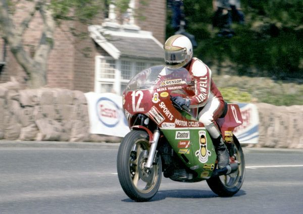 Mike Hailwood winning the 1978 Formula One TT