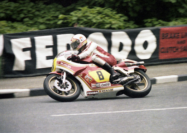 Mike Hailwood finished second in his last TT to Alex George