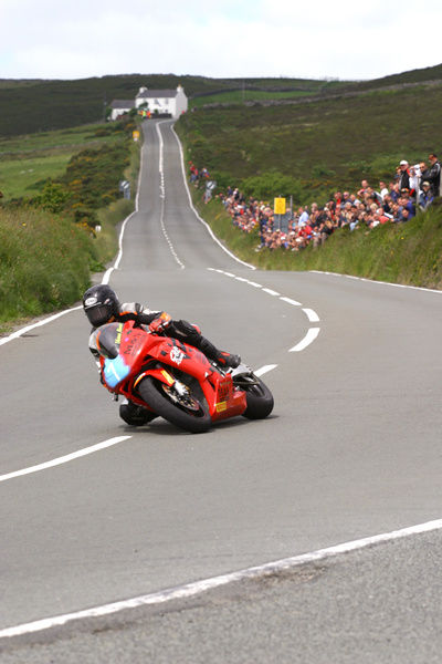 Shaun Harris (Honda) 2004 Junior TT