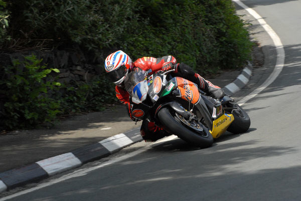 Steve Plater (Honda) 2009 Supersport TT