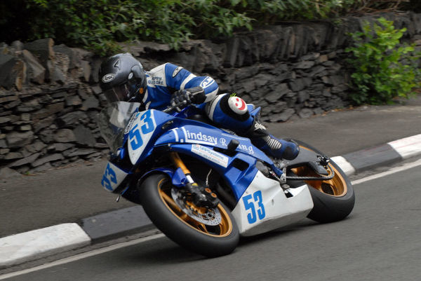 Victor Gilmore (Yamaha) 2009 Supersport TT