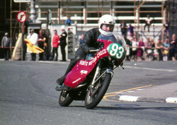 William Royle (Suzuki spl) at Ramsey: 1973 Lightweight Manx Grand Prix