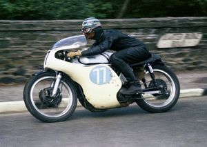 Albert Moule (Norton) 1965 Junior TT