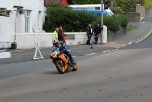 Alistair Howarth (Suzuki) 2009 Senior Manx Grand Prix