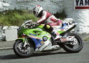 Allan Warner (Kawasaki) 1993 Supersport 400 TT