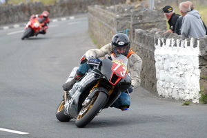 Andrew Brown (Aprilia) 2009 Southern 100