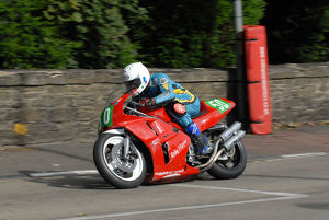 Andy Cowin (Yamaha) 2009 Ultra Lightweight Manx Grand Prix