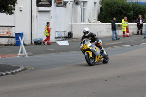 Andy McPherson (Honda) 2009 Senior Manx Grand Prix