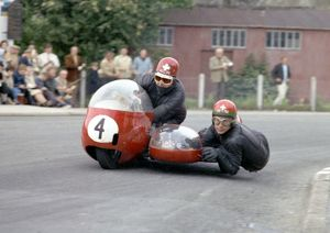 Anglo-Swiss co-operation: 1965 Sidecar TT