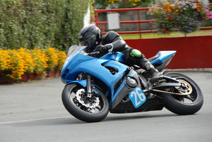 Anthony Davies (Yamaha) 2009 Junior Manx Grand Prix
