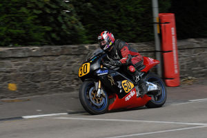 Anthony Redmond (Aprilia) 2009 Senior Manx Grand Prix