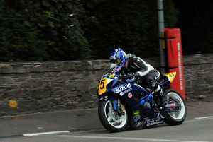 Anthony Varey (Suzuki) 2009 Senior Manx Grand Prix