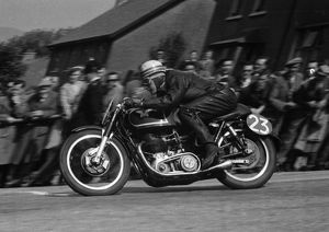 Arnold Jones (Matchless) 1955 Senior TT