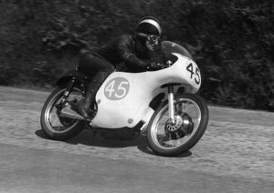 Arthur Wheeler (AJS) 1959 Junior TT