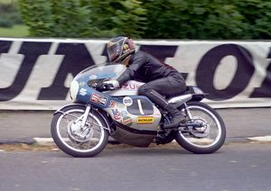 Barry Sheene at Quarter Bridge: 1971 Ultra Lightweight TT