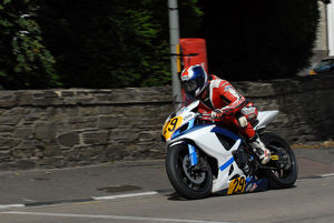 Benny Smith (Suzuki) 2009 Senior Manx Grand Prix