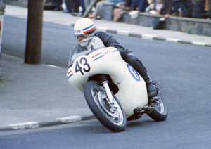 Bernie Lund (AJS) 1968 Junior TT