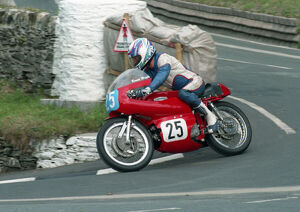 Bernie Wright (Aermacchi) 1996 Junior Classic Manx Grand Prix