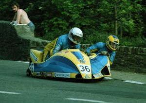 Bjorn Andersson & Lasse Nordstrom (Windle Yamaha) 1982 Sidecar T