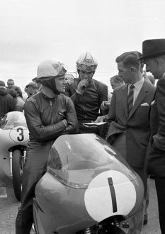 Bob McIntyre and Mike Hailwood 1961 Senior TT