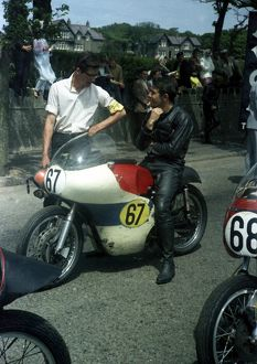 Brian Sapsford (Norton) 1967 Senior TT