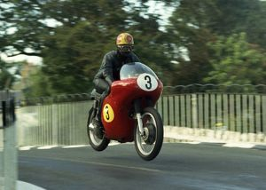 Brian Smith (Matchless) 1967 Senior Manx Grand Prix