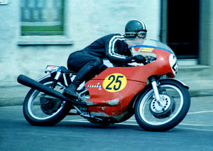 Brian Steenson (Seeley Matchless) 1969 Senior TT