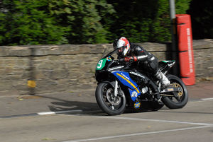 Chris Bradshaw (Suzuki) 2009 Ultra Lightweight Manx Grand Prix