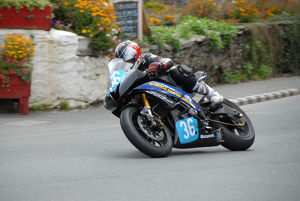 Chris Bradshaw (Yamaha) 2009 Junior Manx Grand Prix