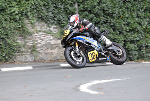 Chris Bradshaw (Yamaha) 2009 Senior Manx Grand Prix