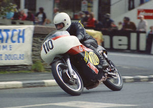 Chris East (Matchless) 1974 Senior Manx Grand Prix