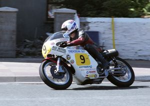 Chris McGahan (Seeley) 1993 Senior Classic Manx Grand Prix