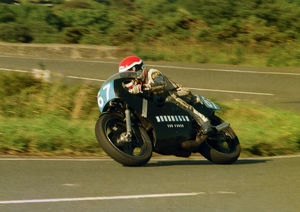 Cliff Peart (Cliffe Yamaha) 1987 Junior Manx Grand Prix