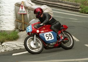 Cliff Shorter (Ducati) 1996 Junior Classic Manx Grand Prix