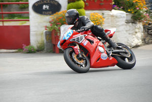 Dan Hobson (Yamaha) 2009 Junior Manx Grand Prix