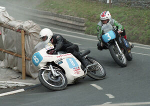 Danny Shimmin (AJS) & Glen English (Aermacchi) 1996 Junior Class